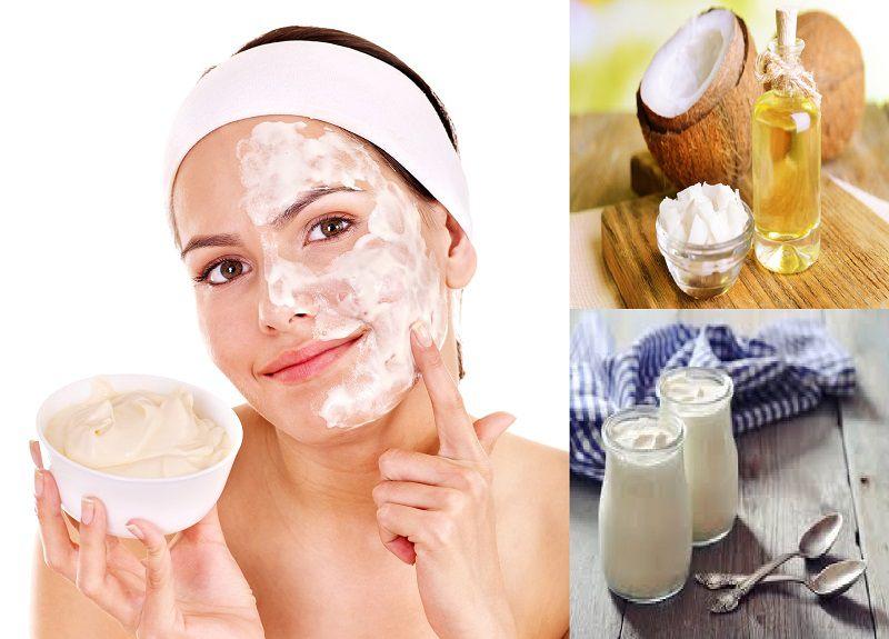 Dâu dừa và sữa tươi là bí kíp giúp dưỡng da hiệu quả