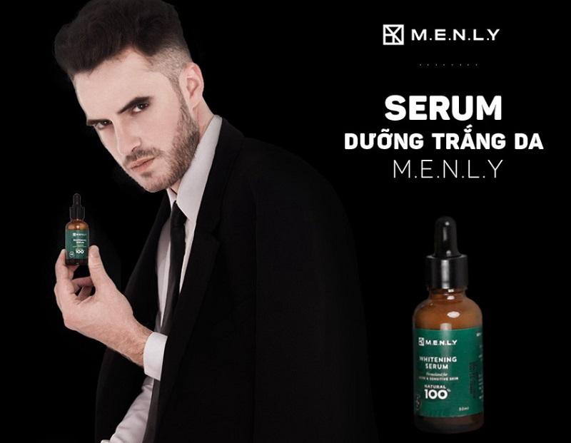 Serum trị thâm dưỡng trắng cho nam giới Menly