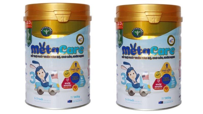 Meta Care là sữa cho trẻ còi xương suy dinh dưỡng rất được ưa chuộng