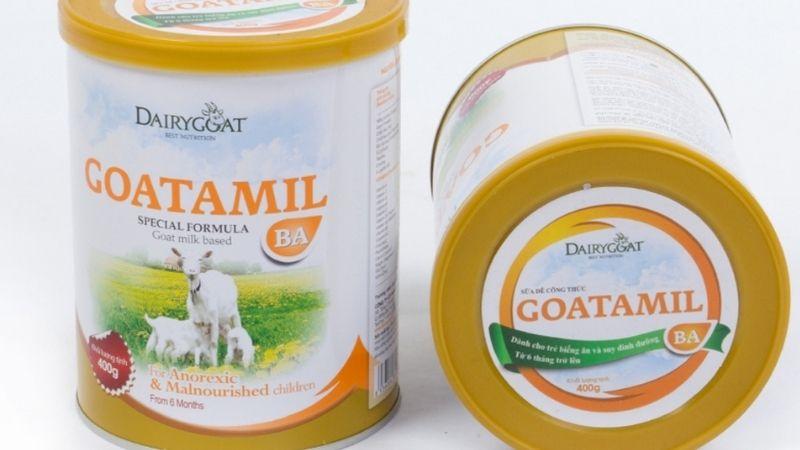 Goatamil BA khắc phục tình trạng còi xương chậm lớn ở trẻ
