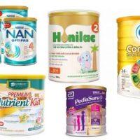 sữa cho trẻ còi xương suy dinh dưỡng