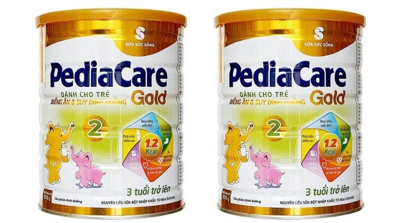 Pediacare cung cấp nhiều canxi và các vitamin khoáng chất