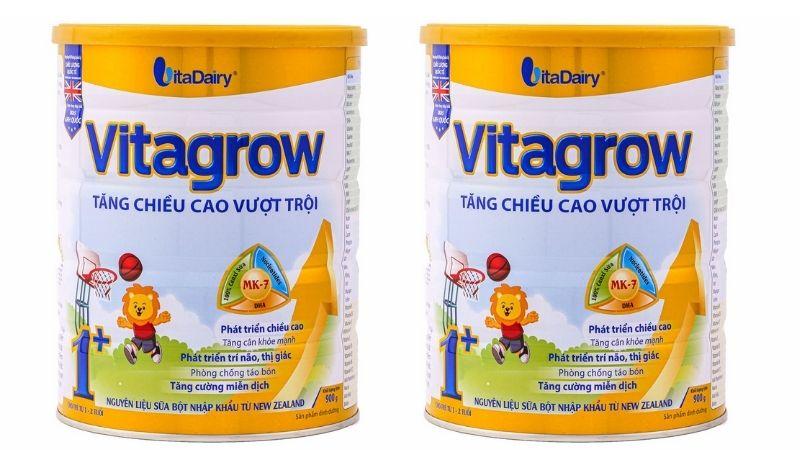 Các phụ huynh có thể cho con sử dụng Vitagrow
