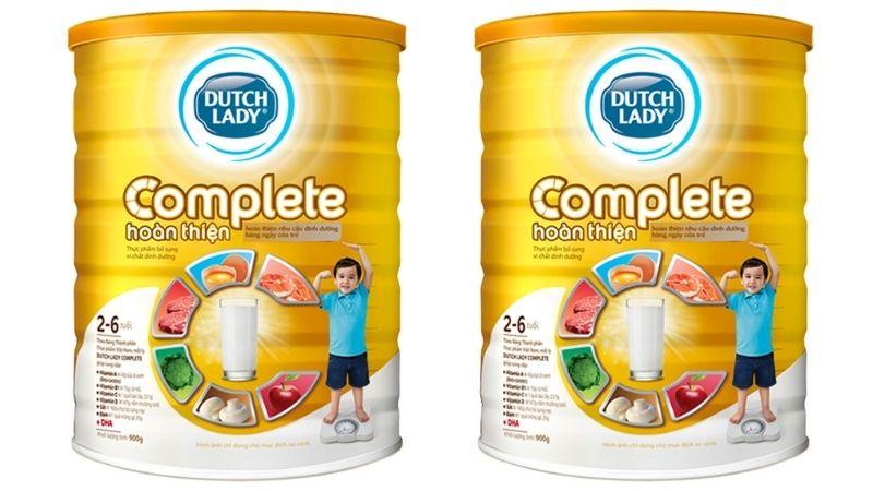 Dutch Lady Complete là thương hiệu sữa uy tín của Hà Lan