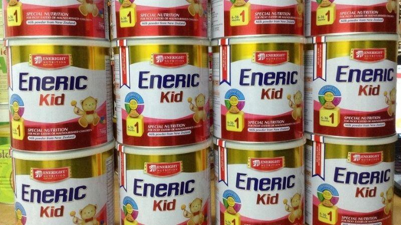 Eneric Kid là sữa cho trẻ còi xương suy dinh dưỡng chất lượng cao