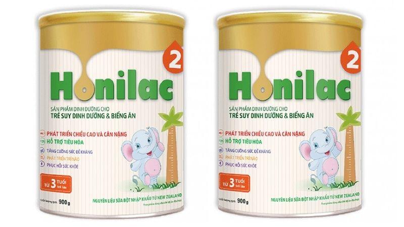 Honilac là sữa có nguyên liệu nhập trực tiếp từ New Zealand