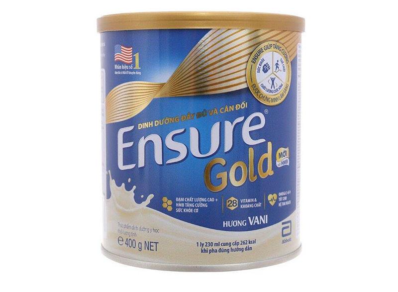 Ensure Gold là một trong những sữa loãng xương cho người lớn tuổi khá nổi tiếng