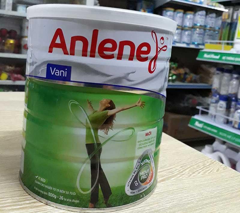 Sữa loãng xương cho người cao tuổi Anlene được nhiều người tin dùng