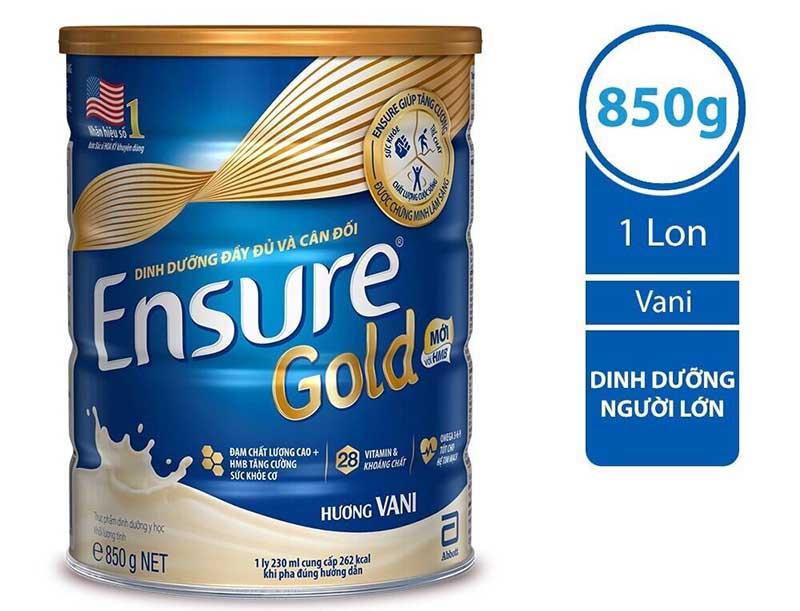 Ensure Gold là một sữa có thành phần và công thức đặc biệt, đáp ứng tiêu chuẩn khắt khe