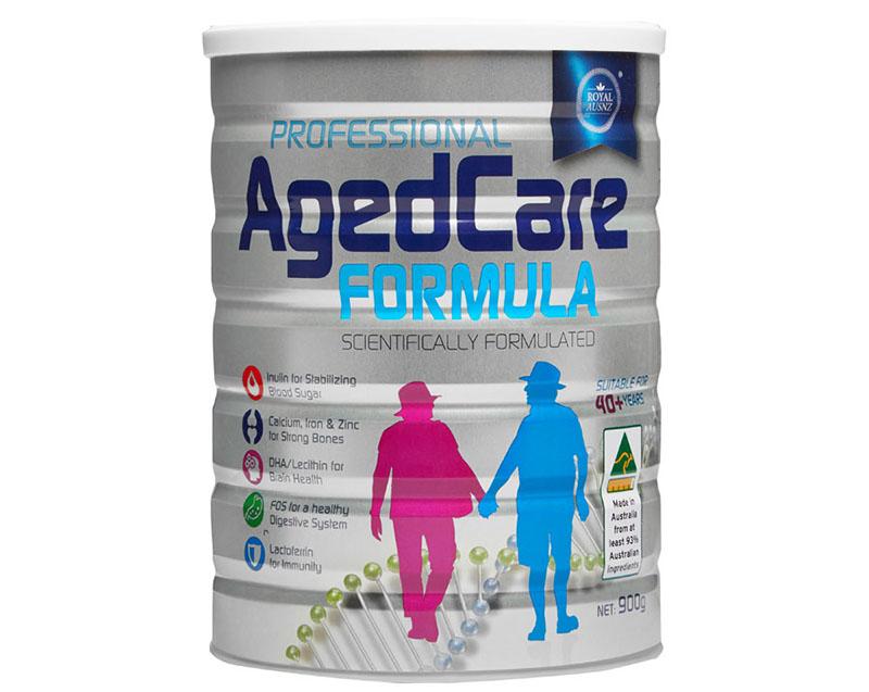 Agedcare Formula là sản phẩm dành cho những người từ 40 tuổi trở lên