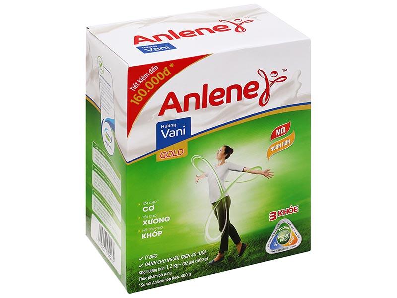 Sữa Anlene Gold dành cho người trên 50 tuổi và có thể giúp phòng ngừa loãng xương