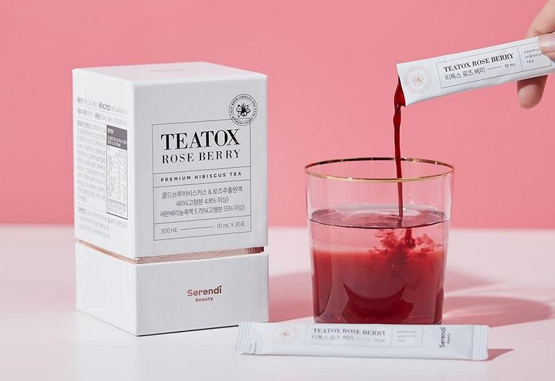 Thực phẩm chức năng giảm cân dạng trà Teatox Roseberry