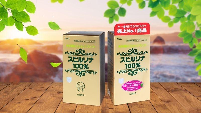 Tảo xoắn Spirulina tăng cân Nhật Bản được rất nhiều người đánh giá cao