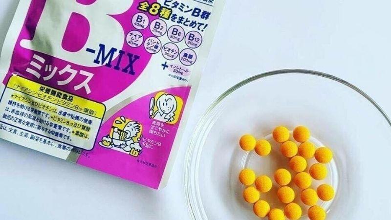 Viên uống tăng cân Nhật Bản DHC Vitamin B-Mix an toàn cho cơ thể