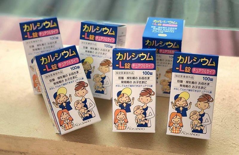 Kẹo ngậm Kokando bổ sung Canxi để trẻ đạt chiều cao vượt trội