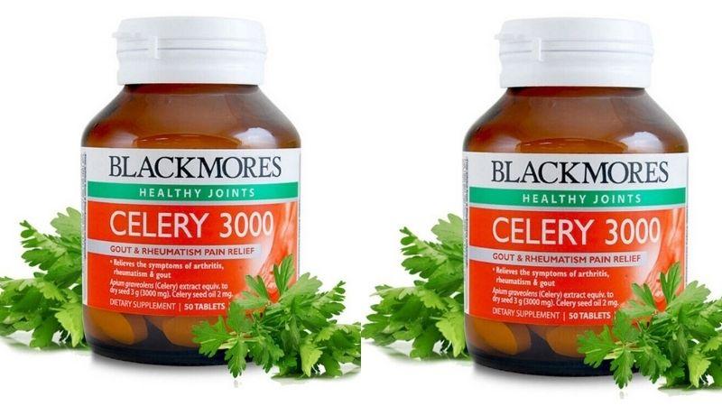 Blackmores Celery là thực phẩm chức năng dành cho người bệnh gout rất nổi tiếng của Úc