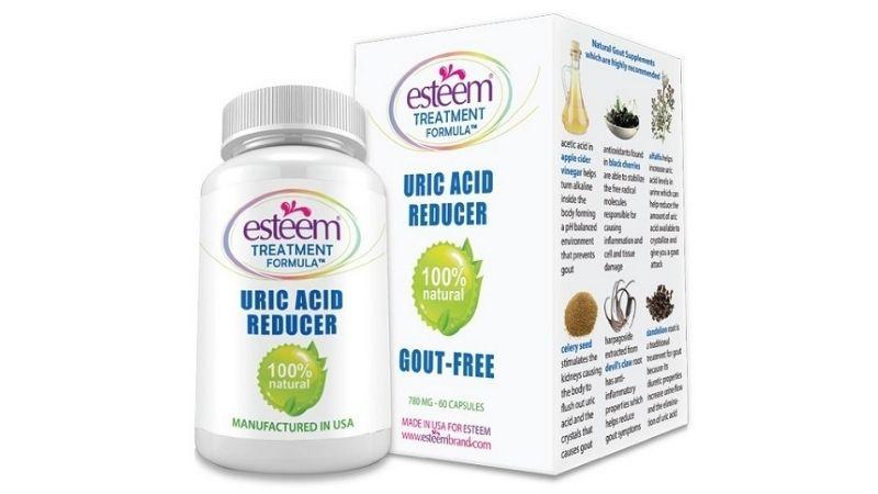 Sản phẩm Esteem Uric Acid Reducer được các chuyên gia đánh giá rất cao