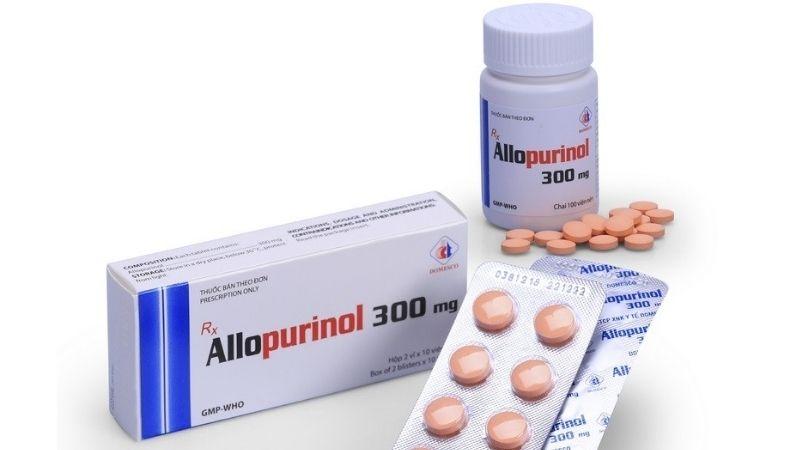 Người bệnh có thể được kê đơn sử dụng thuốc trị gout Allopurinol