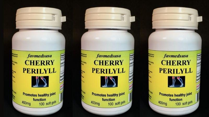 Người dùng có thể tham khảo uống Cherry Perillyl
