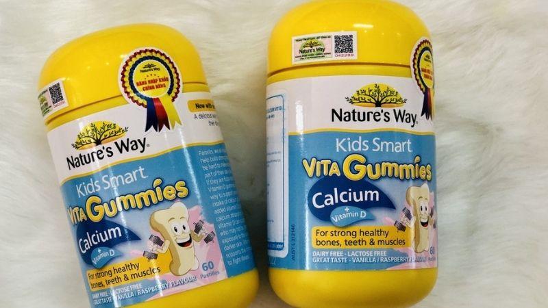 Vita Gummies Calcium hỗ trợ xương phát triển toàn diện
