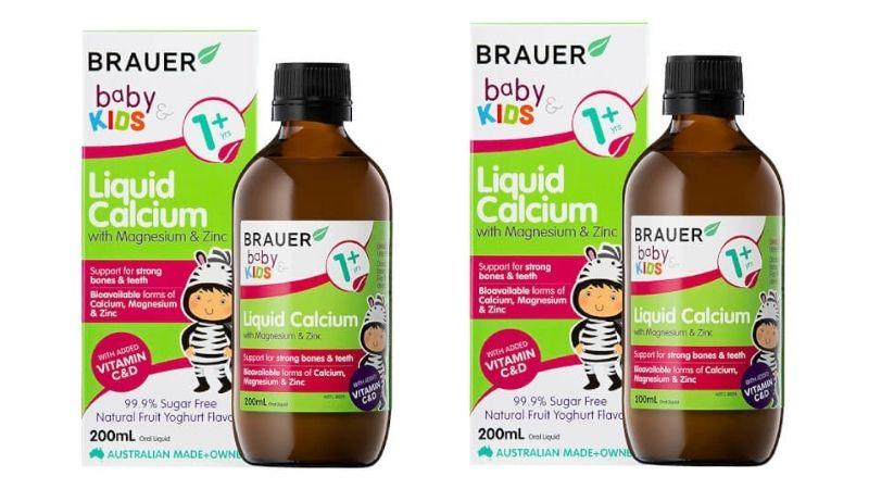 Brauer Baby & Kids Liquid Calcium cũng được các chuyên gia đánh giá rất cao