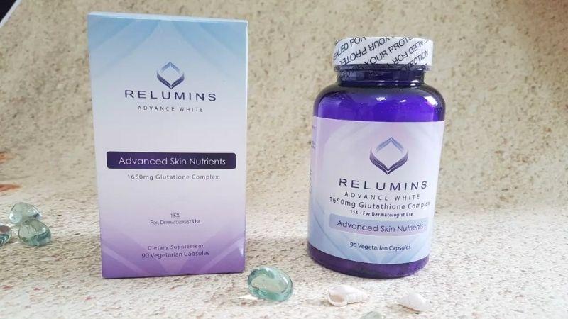 Relumins dưỡng trắng và giúp da khỏe mạnh hơn