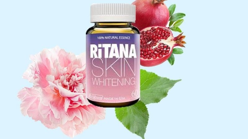 Ritana Skin Whitening thuộc top những viên uống trắng da Glutathione tốt nhất trên thị trường