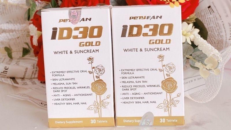 ID30 White and SunCream giúp cải thiện làn da từ tận sâu bên trong