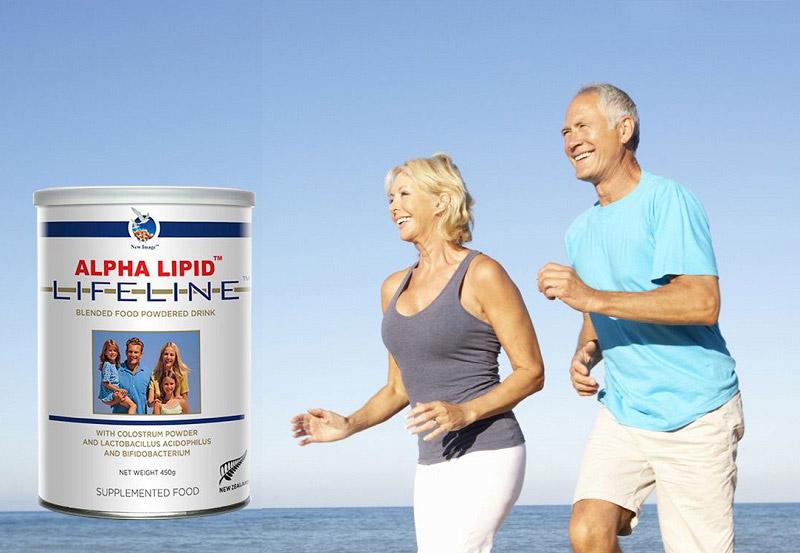 Sữa non Alpha Lipid Lifeline phù hợp cho cho người cao tuổi, bệnh nhân đột quỵ, tim mạch