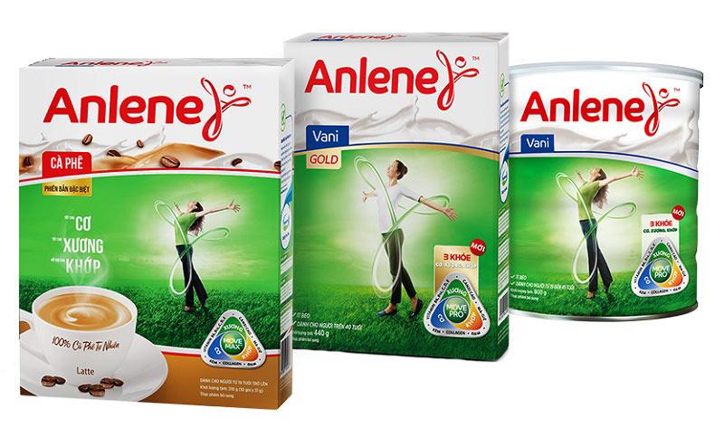 Anlene 3 khỏe Gold - Dòng sữa dành cho người đột quỵ, tai biến, loãng xương,...