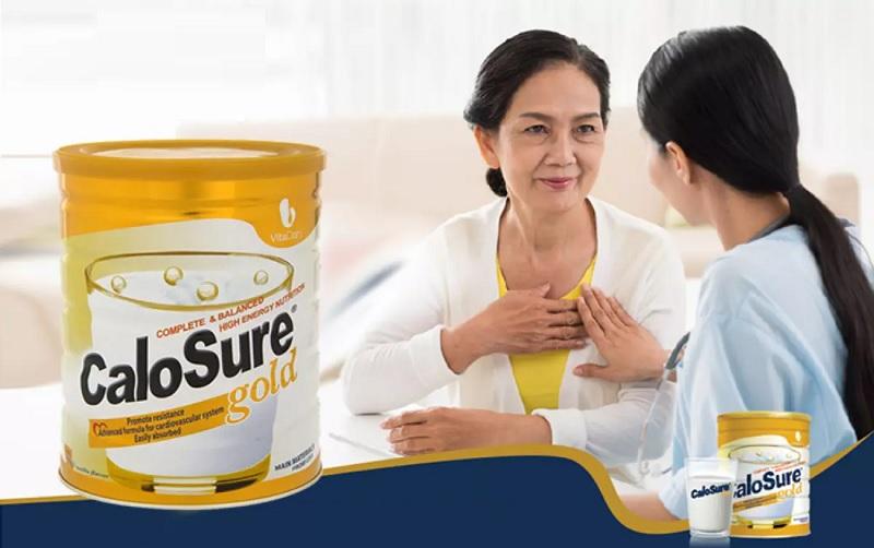 Calosure Gold - Dòng sữa dành cho người đột quỵ, bệnh tim, đái tháo đường,...