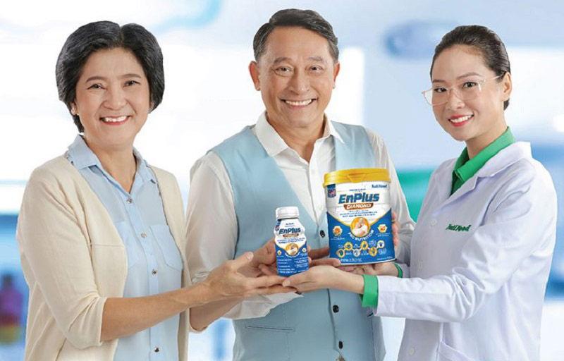 Sữa Enplus Diamond khuyên dùng cho người đột quỵ, tai biến, mắc bệnh tim mạch, loãng xương