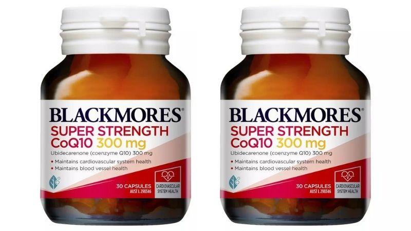Người dùng có thể tham khảo sử dụng viên uống Blackmores Super Strength CoQ10