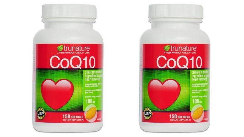 CoQ10 Trunature dành cho người bị cao huyết áp