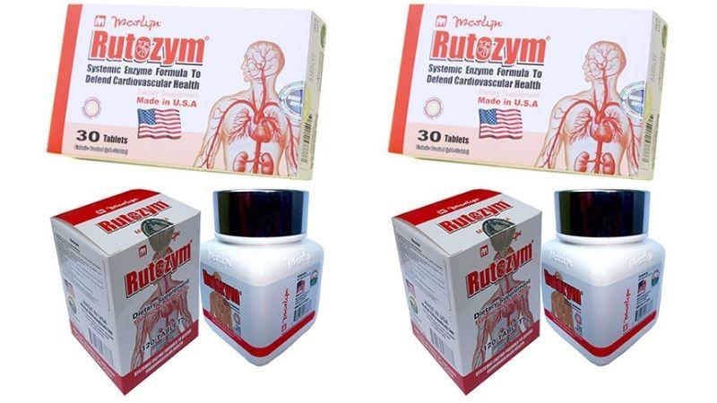 Viên uống chống đột quỵ Rutozym có nguồn gốc xuất xứ từ Mỹ