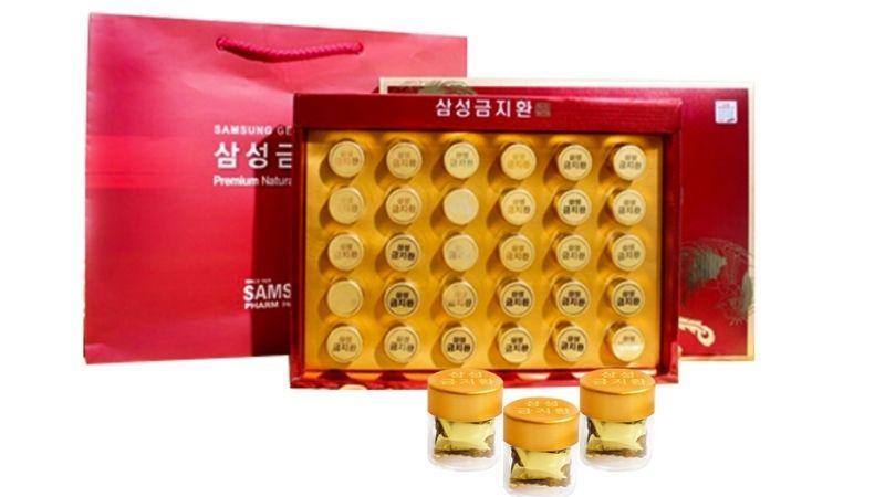 Gum Jee Hwan là thực phẩm chức năng nổi tiếng của Hàn Quốc