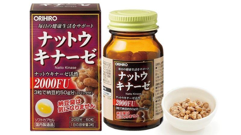 Nattokinase là viên uống rất được ưa chuộng của Nhật Bản