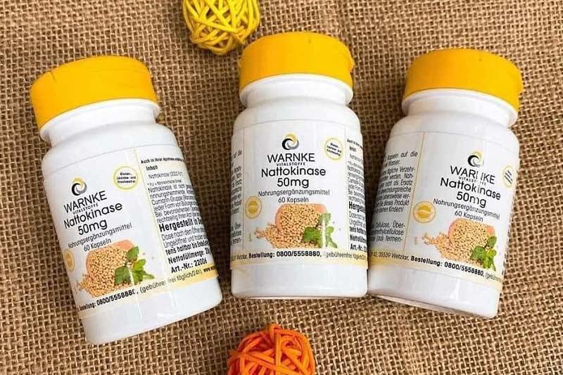 Warnke Nattokinase là sản phẩm bổ trợ tim mạch và phòng chống đột quỵ số 1 của Đức