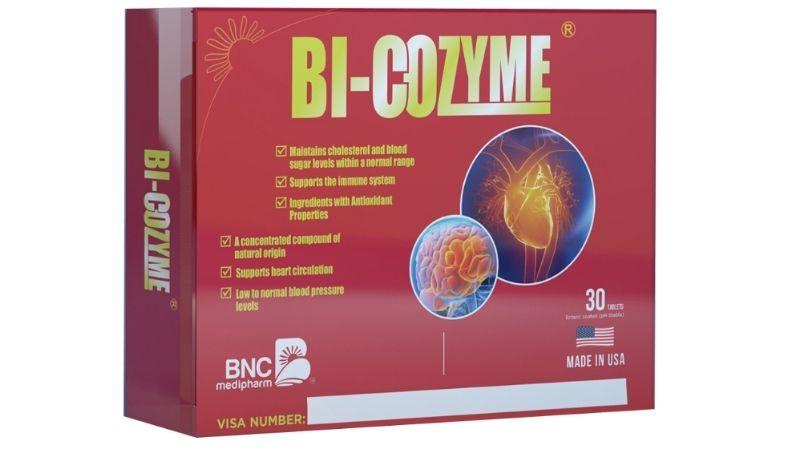 Bi-Cozyme tăng cường lưu thông máu và ngừa đột quỵ
