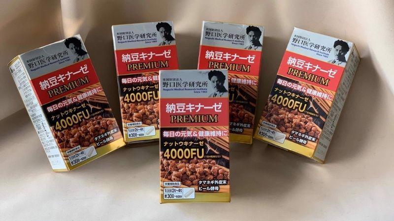 Sản phẩm Noguchi Nattokinase Premium cũng được nhiều người dùng đánh giá cao