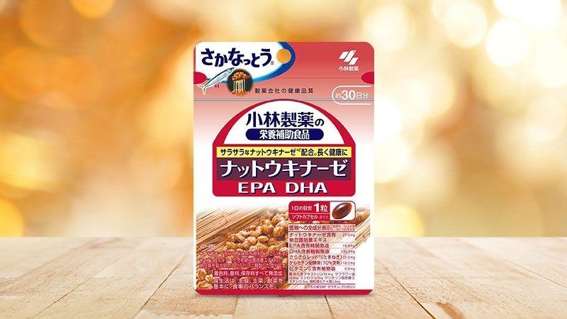 Kobayashi Nattokinase EPA/DHA 2000FU được ưa chuộng sử dụng ở nhiều quốc gia
