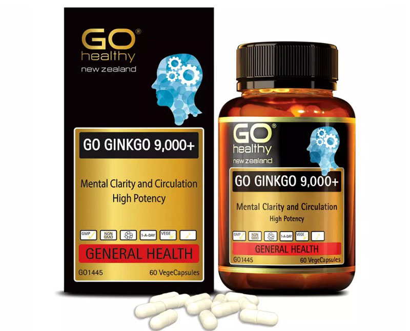 Viên uống Go Ginkgo 9000 của Go Healthy (Úc) được nhiều người tin dùng