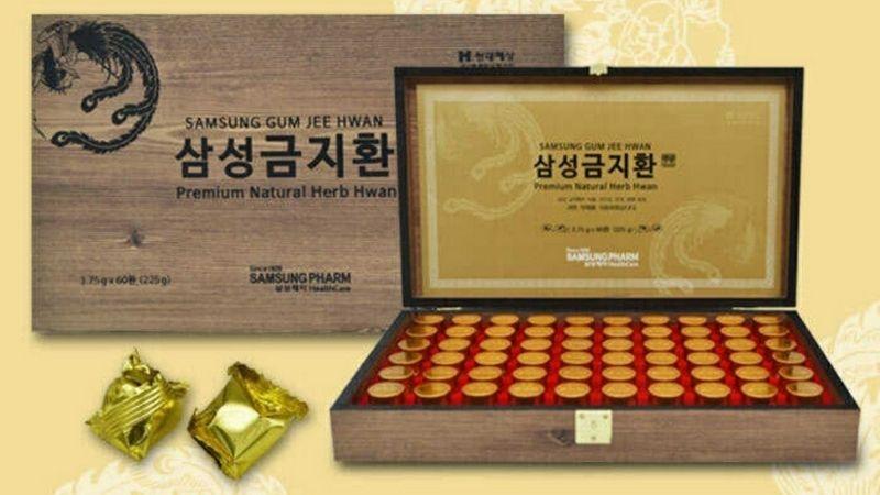 Gum Jee Hwan tận dụng nhiều dược liệu quý trong thiên nhiên
