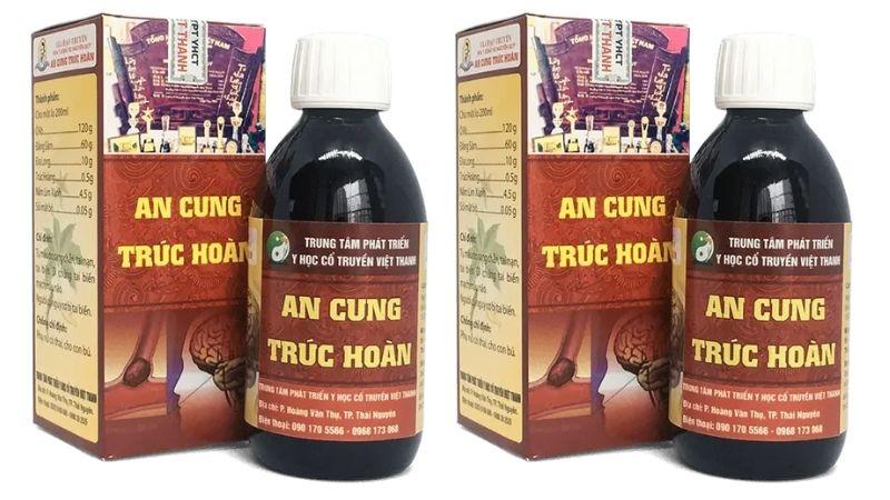 An Cung Trúc Hoàn được bào chế từ nhiều dược liệu quý trong tự nhiên