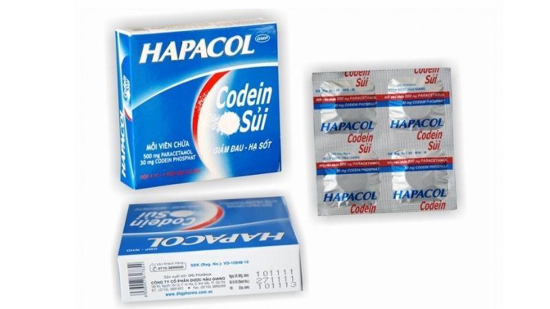 Giảm đau đầu bằng thuốc Hapacol Codein