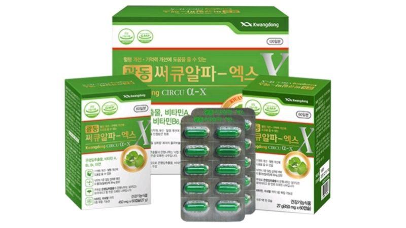 Viên uống Kwangdong Circu hỗ trợ chữa đau đầu khi hành kinh