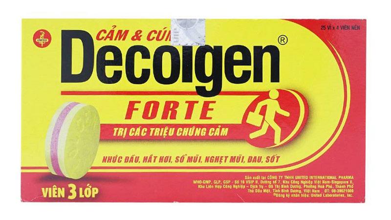 Thuốc giảm đau đầu Decolgen tiện dụng và mang lại hiệu quả nhanh