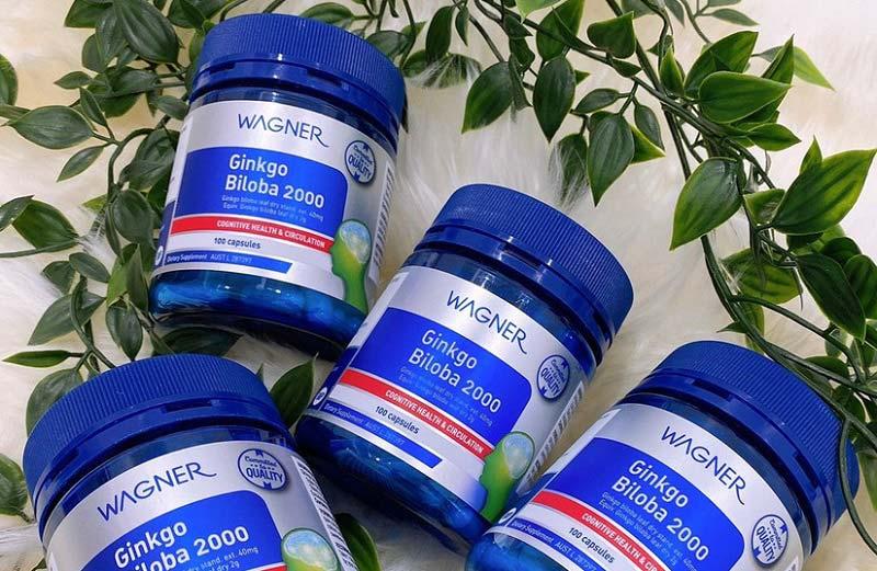 Wagner Ginkgo Biloba - Sản phẩm bổ trợ não bộ và hệ thần kinh xuất xứ Úc