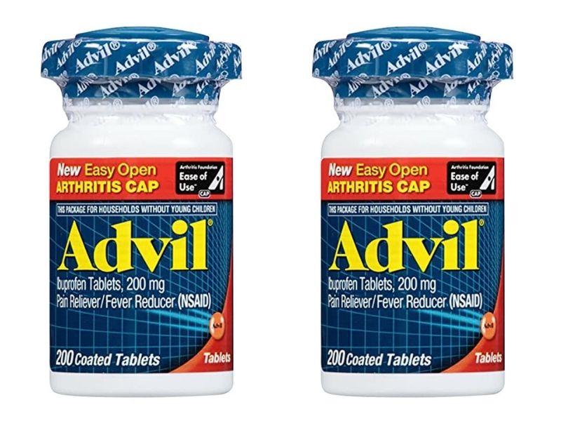Advil 200mg Easy Open Arthritis Cap cải thiện đau nửa đầu hiệu quả
