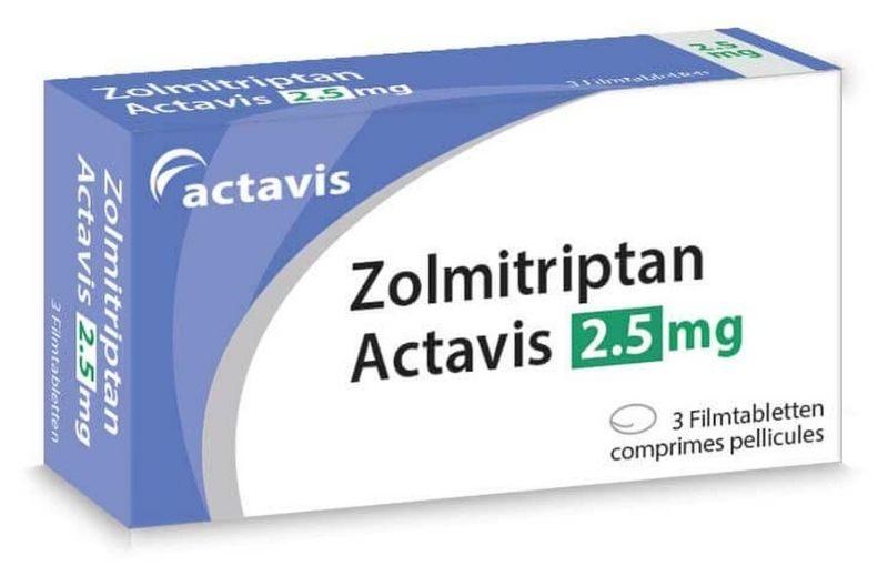 Zolmitriptan được nhiều người sử dụng và đánh giá cao